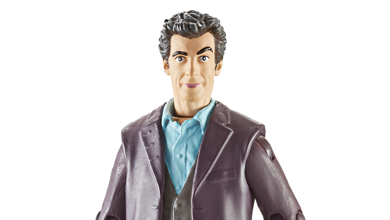 Illustration for article titled Peter Capaldi's first Doctor Who figure remains completely terrifying