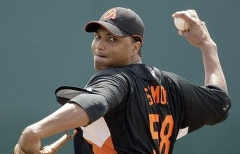Illustration for article titled Baltimore Orioles Reliever Wanted For Murder
