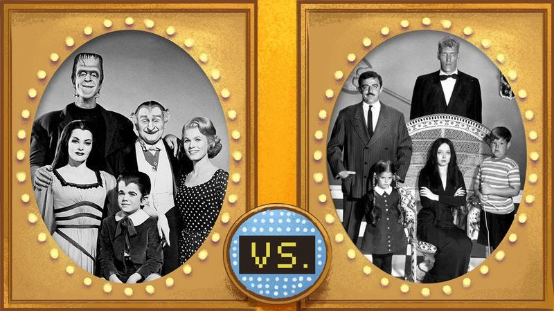 get a jump on halloween with our munsters vs addams family feud