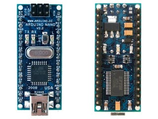 Illustration for article titled New Arduino Nano: DIY Electronics in Gum-Sized Board