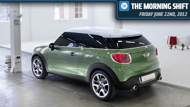 Carlos Ghosns Long Sayonara Mini Countryman Coupe Is Coming And