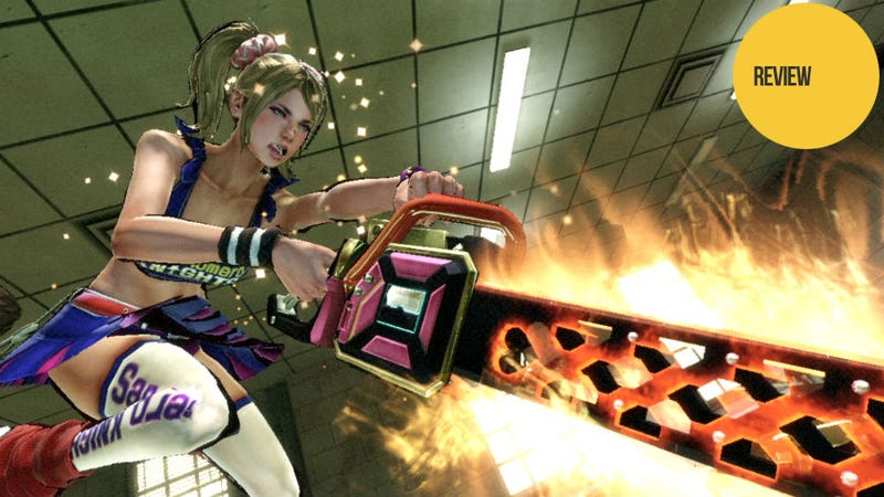 Illustration for article titled Lollipop Chainsaw: The Kotaku Review