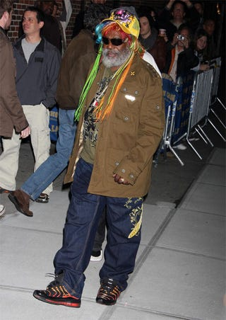 Illustration for article titled This Is Not George Clinton's Halloween Costume