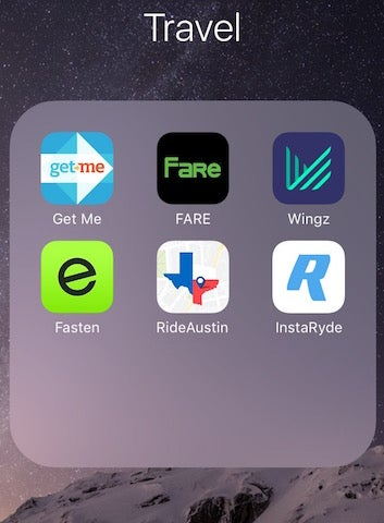 Illustration for article titled Who Needs Uber Or Lyft In Austin When You Have A Billion Other Options