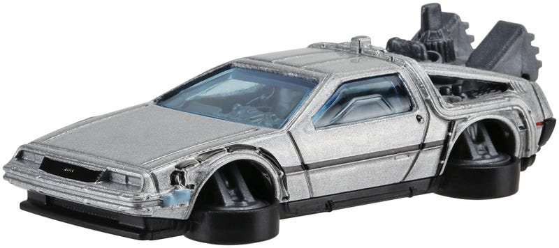 Illustration for article titled Imagination, Not Roads, Is What Hot Wheels' Hover ModeBTTF II DeLorean Needs to Fly