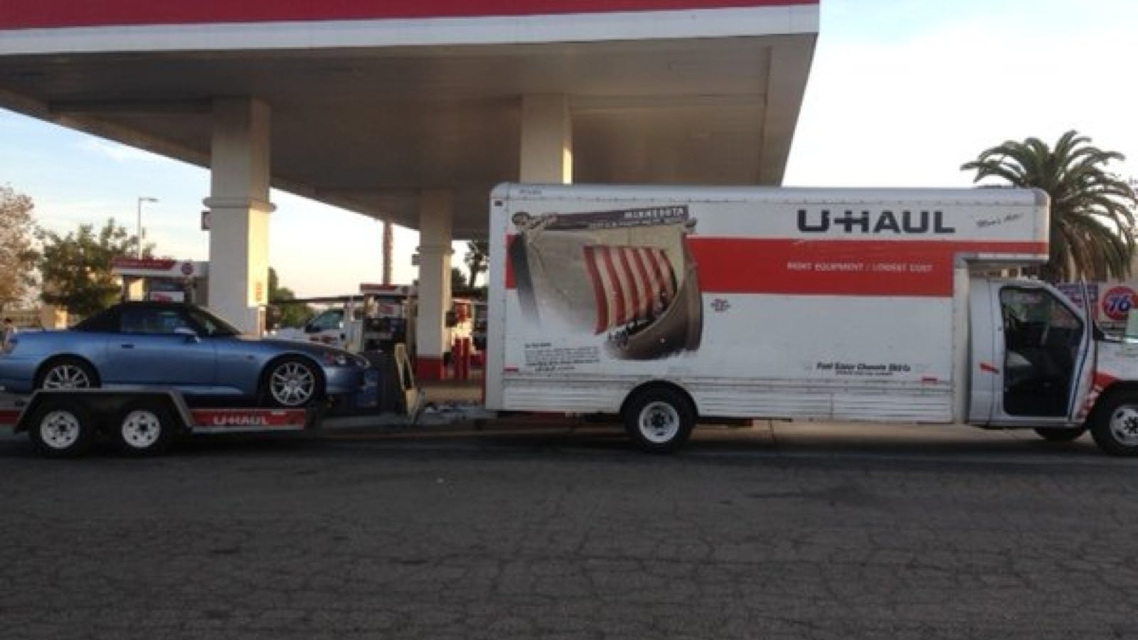 Veteran Loses Everything But Honda S2000 After U Haul