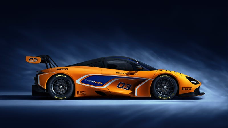 Illustration for article titled The McLaren 720S GT3 Is the Racing Version of the McLaren You're Jealous of
