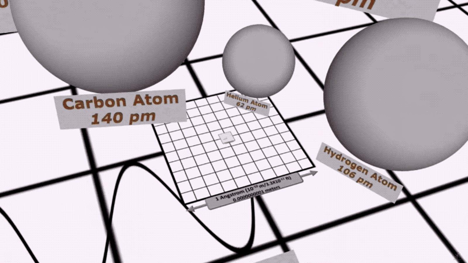 Este increíble vídeo que compara el tamaño del universo en 3D te dejará pegado a la pantalla