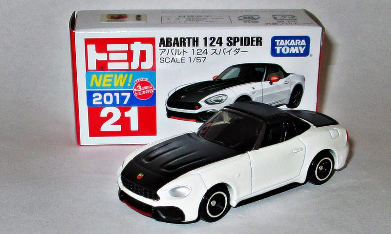 Illustration for article titled Tomica Tuesday: Abarth 124 Spider