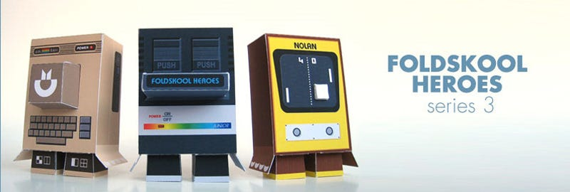 Illustration for article titled Retro Consoles Return As Adorable Papercraft