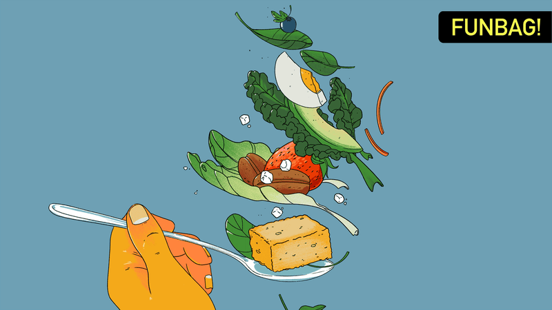Illustration for article titled Let's Do It. Let's All Eat Salad With A Fuckin' Spoon