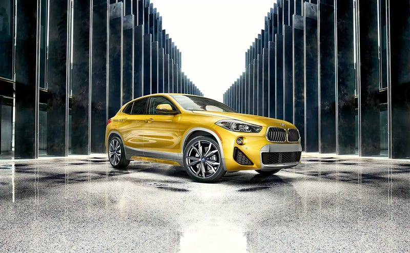 Illustration for article titled The BMW X2 starts right under 40 grand