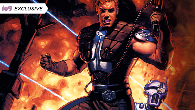Dash Rendar Makes a Friend in This Look Inside a New Star Wars Anthology