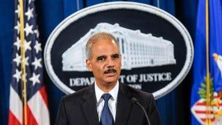 U.S. Attorney General Eric HolderKris Connor/Getty Images