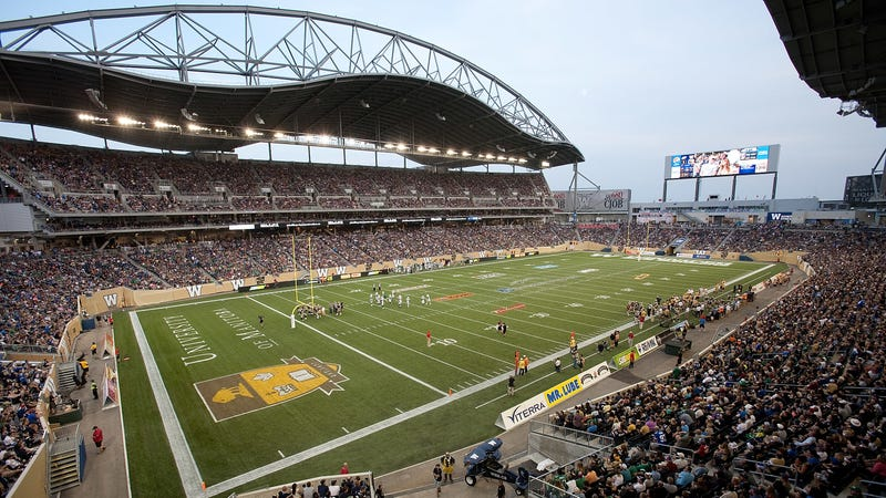 Illustration for article titled Manitoba Admits It Got Conned, Gives Up On Winnipeg's CFL Stadium Ever Actually Paying For Itself