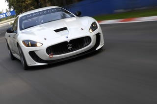 Illustration for article titled Maserati GranTurismo MC Corse Concept Gets Early Reveal On Way To Paris
