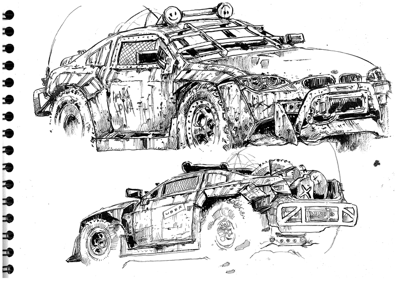 Illustration for article titled My car made into a Mad Max ute by a LaLDer!