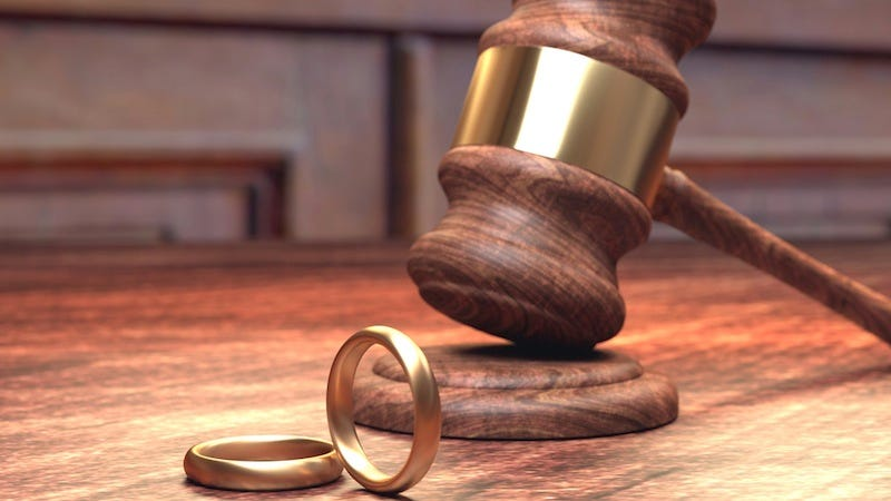 Illustration for article titled Court Will Not Allow Divorced Couple Who Reconciled to Undo Their Divorce