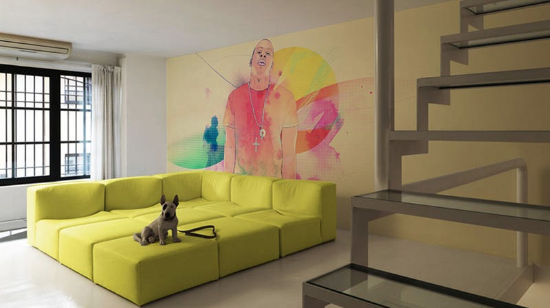 Illustration for article titled Wall Decals Give Jay-Z a Starring Role in Your Living Room