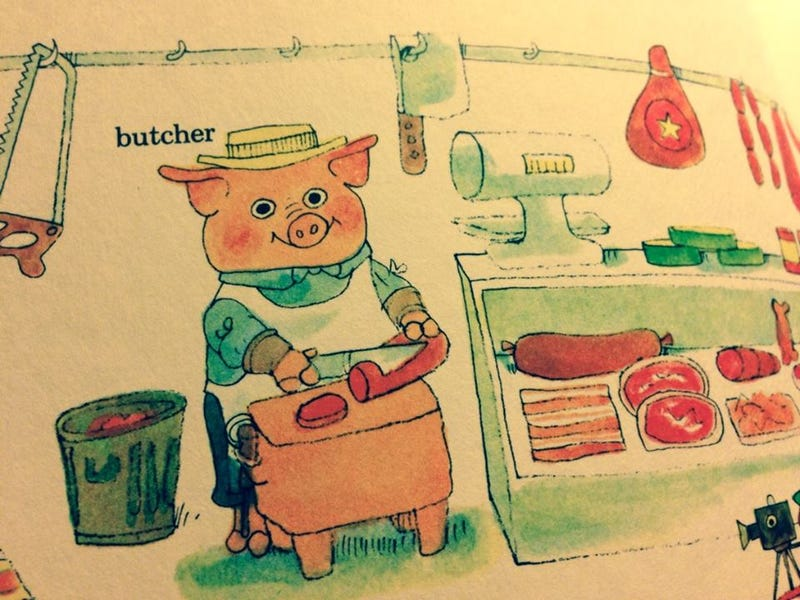 Illustration for article titled Richard Scarry, Master of Subversion