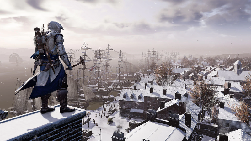 A promotional image for the ACIII remaster.