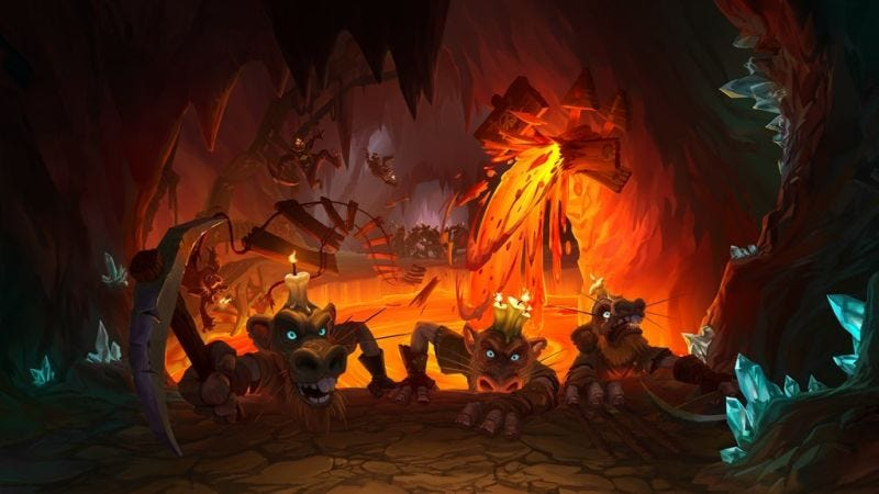 Illustration for article titled 'Dungeon Run' Is The Single-Player Mode HearthstoneAlways Needed