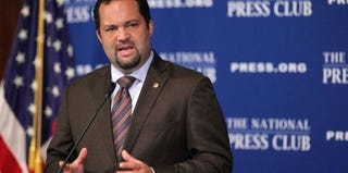 Benjamin Todd Jealous, NAACP president and CEO, plans to step down in January. (Alex Wong/Getty Images)