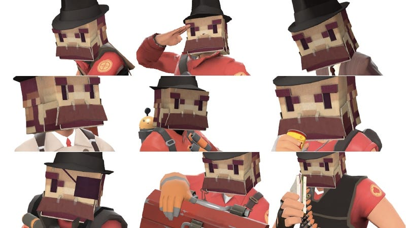 only one man in the world owns tf2 s top notch hat