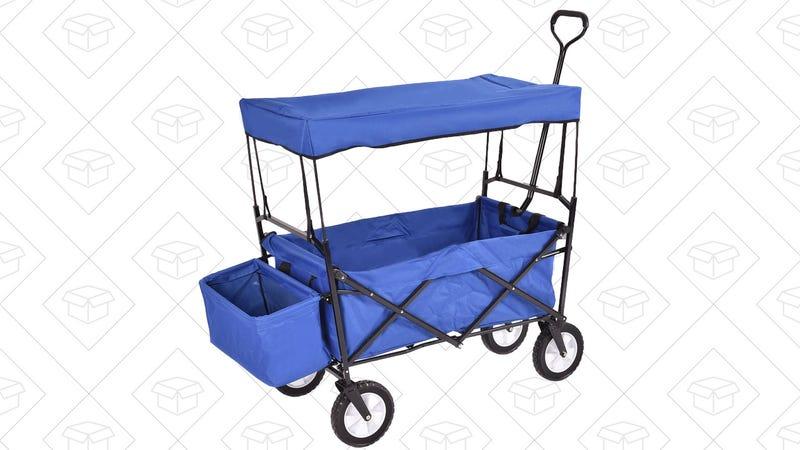 Folding Wagon, $40