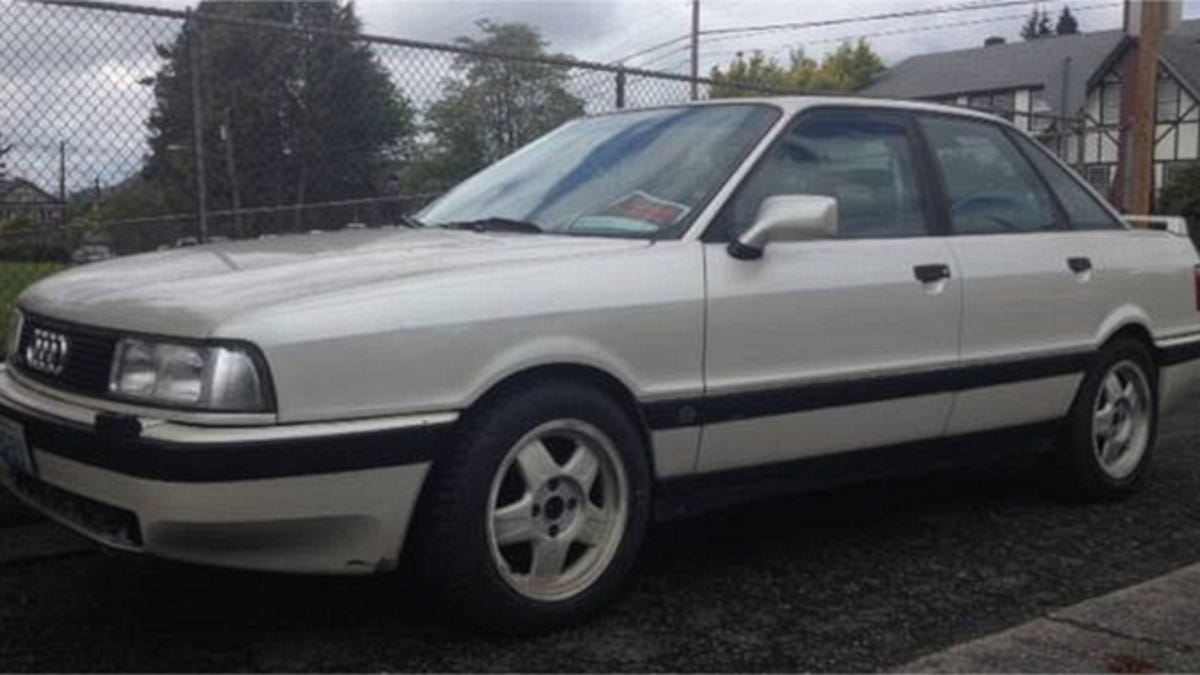 Would You Go $2,300 For A V8 1990 Audi 90 Quattro?