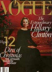 Illustration for article titled HILLARY CLINTON GOES BACK ON PROMISE TO POSE FOR VOGUE!