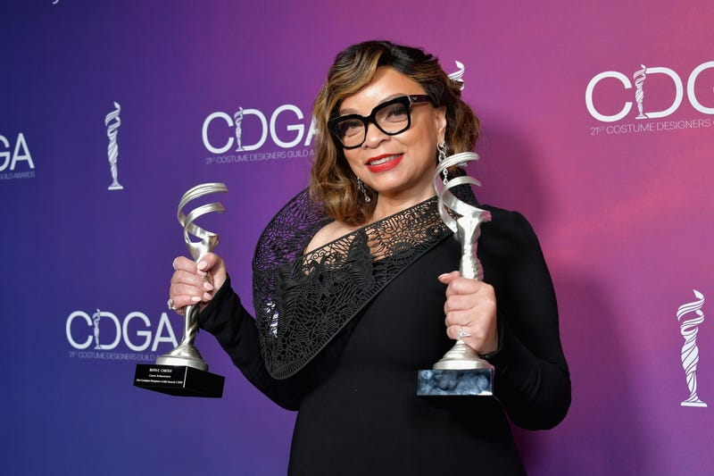 Ruth E. Carter, recipient of the Excellence in Sci-Fi / Fantasy Film award for 'Black Panther' and the Career Achievement Award, at the 21st CDGA (Costume Designers Guild Awards) on February 19, 2019 in Beverly Hills, California.