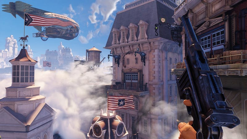 Illustration for article titled I've Played 4 1/2 Hours of BioShock Infinite. I'm No Longer Worried About This Game