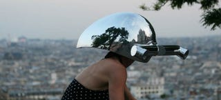 Illustration for article titled These Helmets Let You See the World as an Animal
