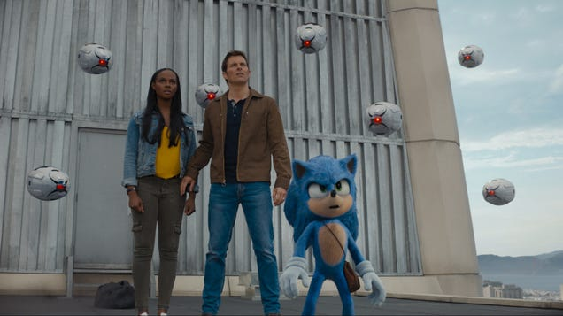 Own the Sonic the Hedgehog Movie for $13 and Relive the Scene Where He Talks About Olive Garden Forever