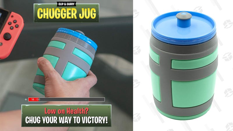 Clip & Carry Chugger Jug 16 oz Water Bottle | $11 | Amazon | Clip coupon on page