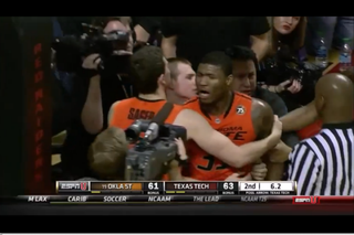 Oklahoma State's Marcus Smart during the game against Texas TechYouTube