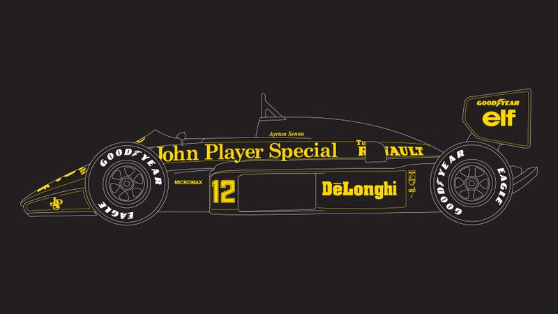 Illustration for article titled I made a T-shirt shop with Old School F1 stuff!