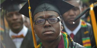 Members of the graduating Class of 2013 at Morehouse College (Mandel Ngan/Getty Images)