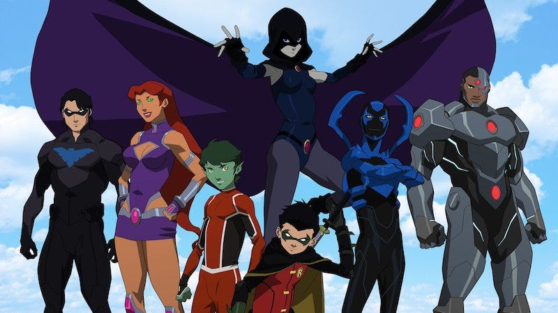 Action TITANS, YOUNG JUSTICE Return To Launch New DC Digital Service