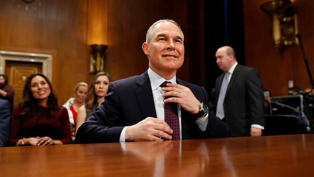 EPA Officially Removes Its Climate Change Sub-site