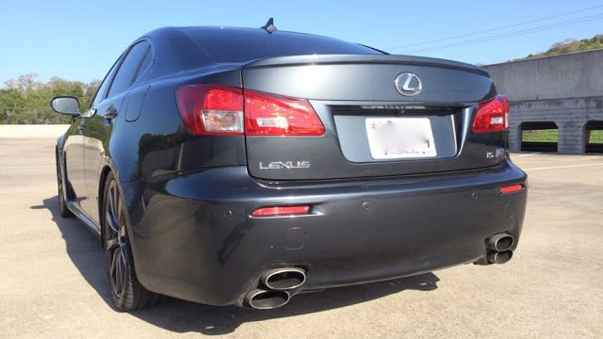 Here Is What It's Like To Live With A 450+ hp Lexus IS-F