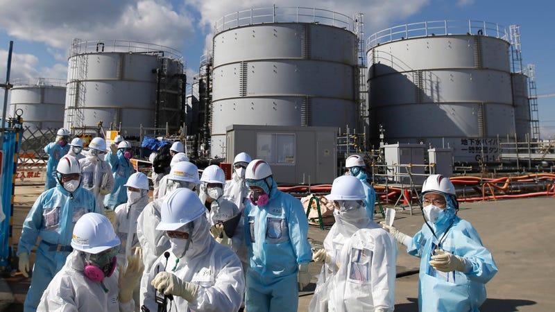 Una réplica de magnitud de 5,7 sacude Fukushima