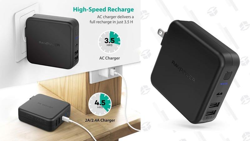 Batería RAVPower 6700mAh   $23   Amazon   Usa el código KINJABYCGráfico: Shep McAllister
