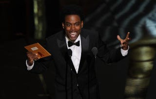 Chris Rock performs at the 84th Annual Academy Awards on Feb. 26, 2012, in Hollywood, Calif.ROBYN BECK/Getty Images