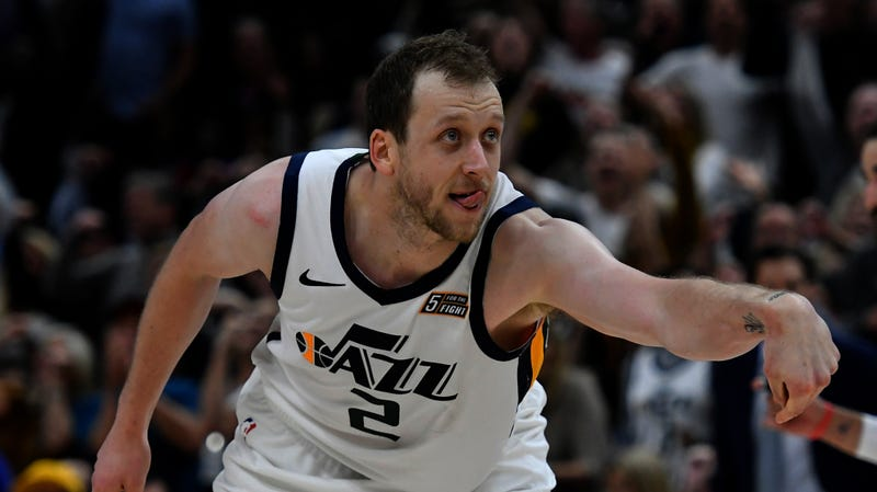 Illustration for article titled Request A Triple-Double From Joe Ingles And He Will Only Smirk At You