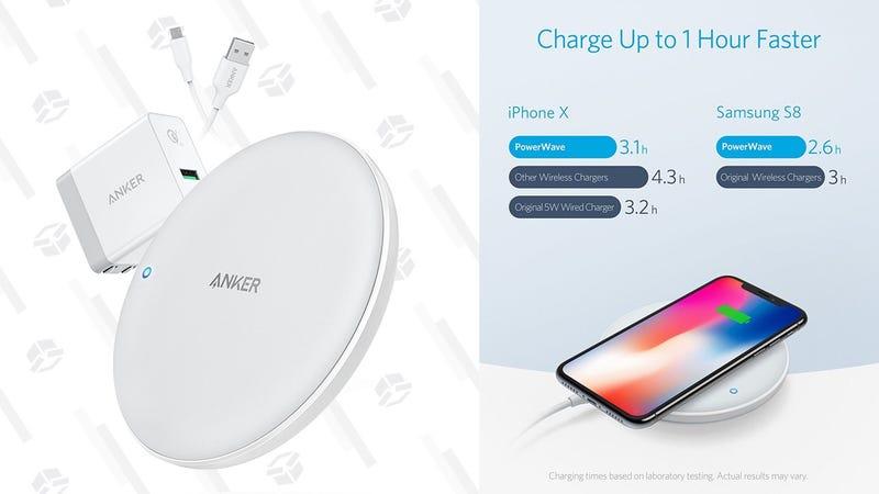 Anker PowerWave 7.5W Qi Charging Pad | $32 | Amazon | Promo code POWERAAA