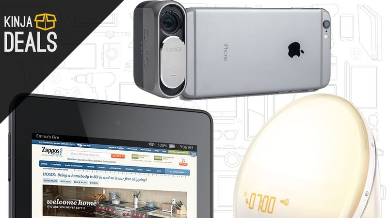 Illustration for article titled Today's Best Deals: Free Chromecast, Fire Tablet, Wake-Up Light, and More