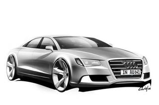 Illustration for article titled Audi Drops Sketches Of A5 Cabrio, Sportback, A7 And Next-Gen A8