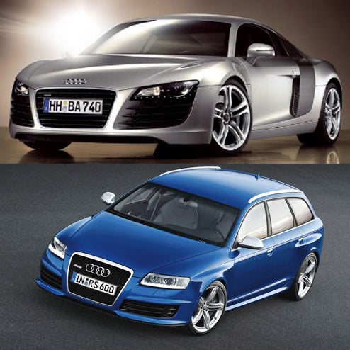 audi rs6 avant or audi r8 which is the fastest. Black Bedroom Furniture Sets. Home Design Ideas